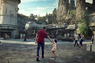 Disney's Galaxy Edge Rendering